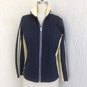 SJB Active Navy Yellow Track Suit Jacket!